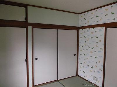 お孫さんが喜ぶお部屋に、内装リフォーム