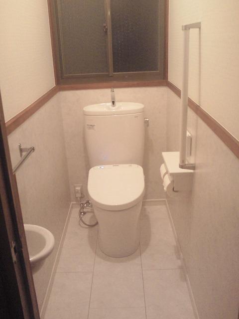 和式から洋式トイレへリフォーム