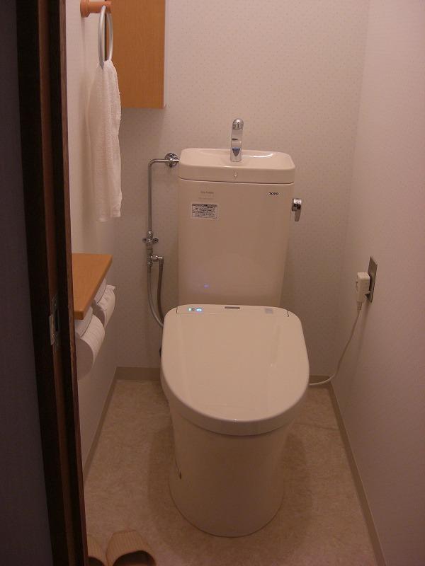和式トイレを節水型の洋式トイレへ