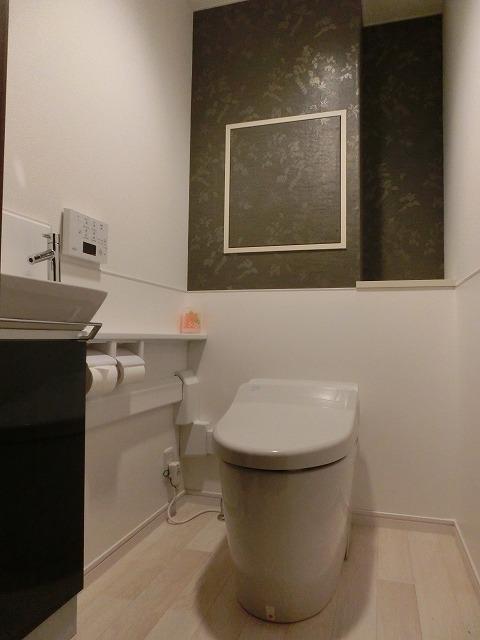 ジャパニーズモダンなトイレ空間へ