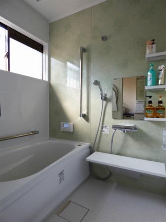 浴室をまるごとあったかくしました