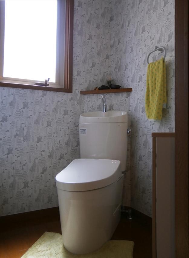 2つのトイレをTOTOの節水タイプに一新
