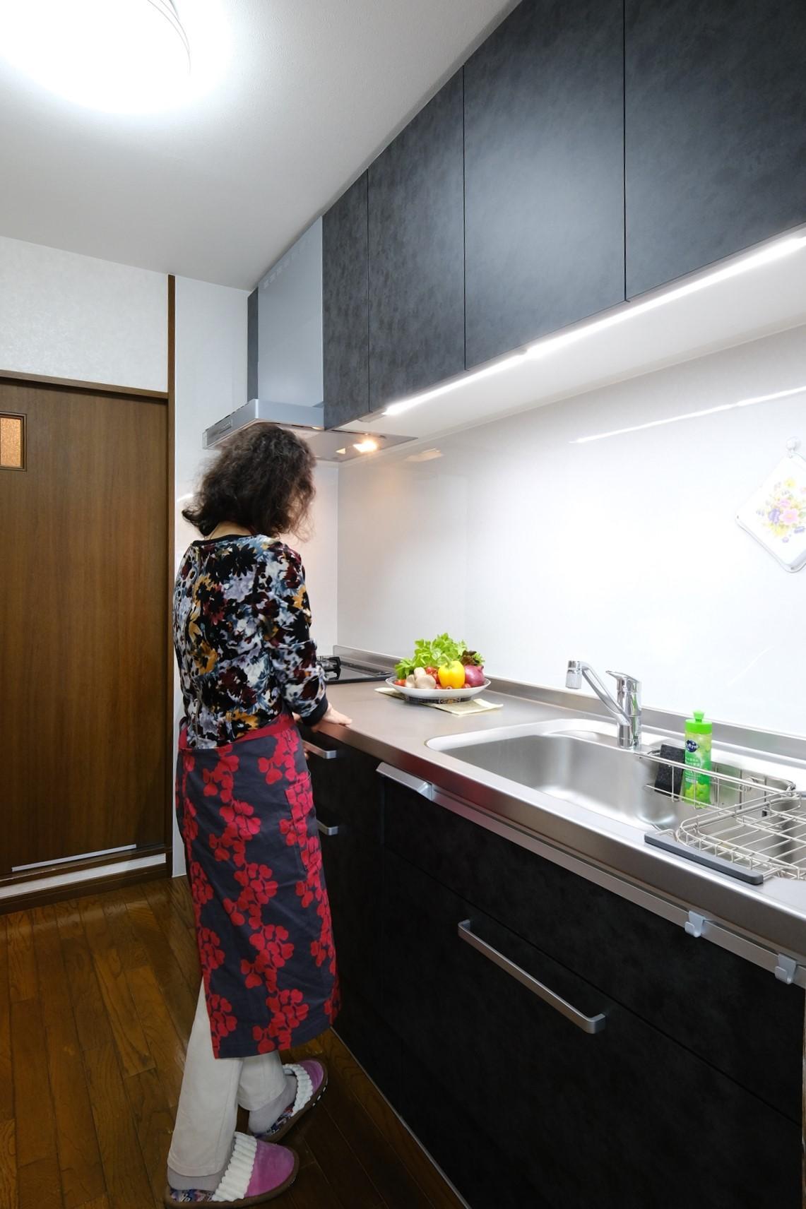 お気に入りのキッチンに立つのが嬉しい♪
